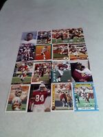 *****Gary Clark*****  Lot of 65 cards.....41 DIFFERENT / Football