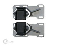 ADJUSTABLE ENGINE MOUNT BRACKET & RUBBERS FOR CHEV LS1-2-3 HQ HJ HX HZ WB ALLOY