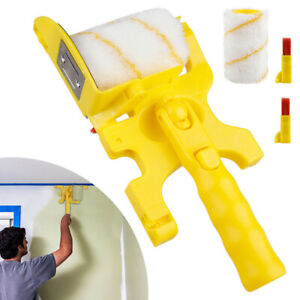Clean-Cut Paint Edger Roller Brush Safe Tool for Home Wall Ceilings Portable UK