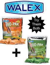 2x Walex Tropical & Bio Pak Holding Tank Deodorizer Toilet Chemical - Caravan RV