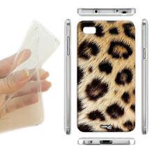 "COVER MORBIDA ULTRA SLIM GEL LEOPARDO MACCHIE PER CELLULARE iPHONE 6 4.7"""