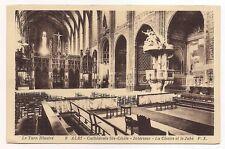 albi  cathédrale ste-cécile , intérieur , la chaire et le jubé
