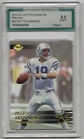 2000 Collector's Edge EG Preview #PM Colts Peyton Manning PSA  AGS 9.5 MINT +