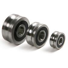 1pcs 8x24x11mm U Grooved Guide Pulley Rail Track Ball Bearings Wheel LFR50/8-6