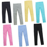 Girls Leggings 2-3y 3-4y 4-5y 5-6y 7-8y 9-10y 11-12y 13y Cotton with Elastane