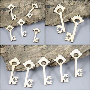 Key keys Craft Embellishment Birch Plywood Laser Cut Wooden Shape Blank MDF