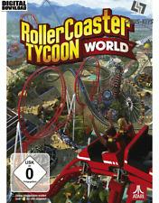 RollerCoaster Tycoon World Steam key PC descarga código global