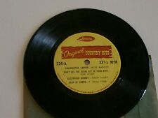 """CLASSIC COUNTRY HITS-EARLY MUSIC-7""""but 33 1/3-Artistic Label-UNUSUAL Collectable"""