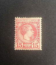 Monaco 1885 MINT Prince Charles 3rd No Gum. Space filler - Rose SG5