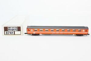 Z Scale Marklin 8741 Eurofima Swiss SBB CFF FFS 1st Class Orange Coach Car LNIB