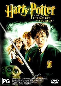 Harry Potter And the Chamber of Secrets - Rare DVD Aus Stock New Region 4