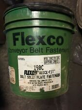 More details for flexco conveyer belt fasteners and tools