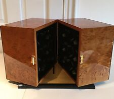 $28,000 Burl Wood Scatola del Tempo Watch Winder - 18RT RA.