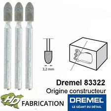 Meule à rectifier en carbure de silicium 3,2 mm dremel 83322  - 26153322JA