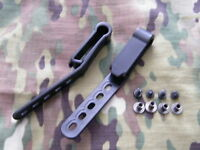 G-Code IWB Black Injection Molded Belt Clips 1.75""