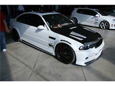 BMW E46 3 SERIES 99-05 E46 2/4 DOOR H-STYLE GTR FIBER GLASS SIDE SKIRTS
