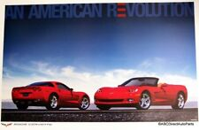 2005 Chevy Corvette C6 Dealer Showroom Sales Poster