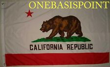 3'x5' California USA Flag American Outdoor Banner Golden State Grizzly Bear 3x5