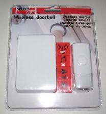 Sonnette Maison sans Fil Blanche White Visitor Wireless doorbell 36 Mélodies