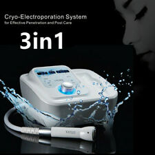 Upgraded Cryo Facial Therapy Skin Cool Electroporation Machine with Heating