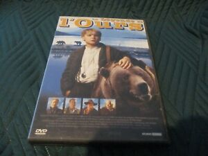 "RARE! DVD ""LA LEGENDE DE L'OURS"" Bryan BROWN, Tom JACKSON / film enfants"