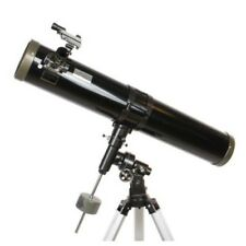 Byomic Reflector Telescope G 114/900 EQ-SKY Newtonian for Beginner Advanced