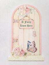 Enchanted Magic Faery Tiny Fairy Door Hand Painted & Decoupage