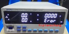 Bench TRMS Voltage Current Power Factor & Power Meter Tester Alarm RS232 PM9805