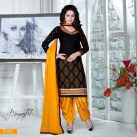 Indian Salwar Kameez Patiala Suit Punjabi Pakistani Shalwar Bollywood DesignerUS