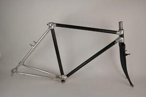 "Alan Carbon Cross Cyclocross 28"" NOS Vintage Rahmen Gabel Frame Fork 51cm"