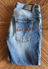 Men's Nudie Jeans Thin Finn Indigo Shuffle 36x30