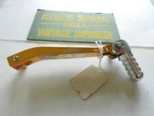 YAMAHA DTR125 ,GEARCHANGE LEVER ,GOLD COLOURED,ALLOY  ,NOS .