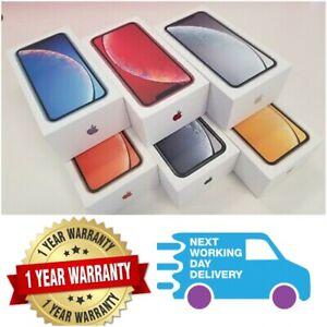 NEW SEALED Apple iPhone XR 64GB 128GB 256GB - Unlocked Smartphone WITH BOX