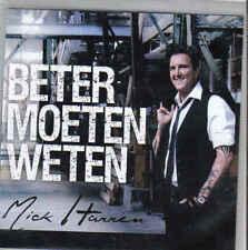 Mick Harren-Beter Moeten Weten Promo cd single