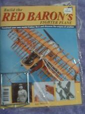 HACHETTE BUILD THE RED BARON'S FIGHTER PLANE FOKKER DR1 # 48 NEW SEALED