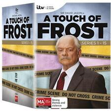 A Touch Of Frost Series Complete Seasons 1-15 DVD Box Oz DVD Set Region 4 R4