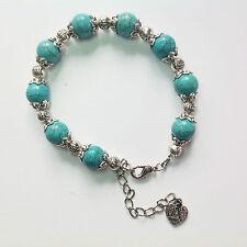 création bijoux mariages fêtes cérémonies mode Bracelet de perles turquoise