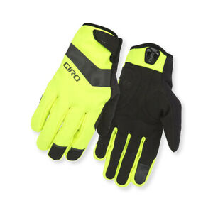 Giro Cycling Gloves Glove Wi Ambient Yellow Windproof Water Resistant Warming