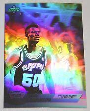 David Robinson 1992-93 Upper Deck Hologram Defensive Player Basketball Card