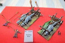 Games Workshop Warhammer Dark Elves Cold One Chariots Metal Painted Army Elf Lot