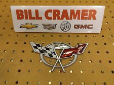 19207386 2003 Chevrolet Corvette OEM Rear 50th Anniversary Bumper Emblem NEW