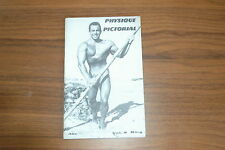 PHYSIQUE PICTORIAL VOL 8 #4 50s VINTAGE MAGAZINE BOYS ART BEEFCAKE GAY MALE NUDE