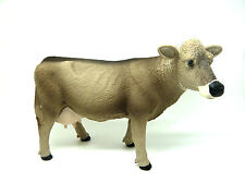 X13) Safari (161529) Brown-Swiss Vache Brown Ferme Figurine