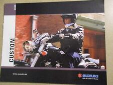 CATALOGUE MOTO : SUZUKI : GAMME CUSTOM 2005