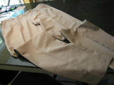 NWOT - Mens NIKE GOLF Khaki Pleated DRI-FIT Pants (34 unhemmed)