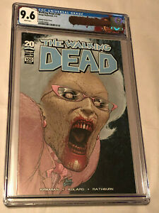 Image 2012 The Walking Dead #100 Quitely Variant Comic CGC 9.6 with Negan Label