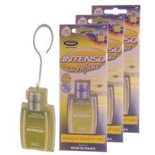 Aroma Intenso GEL Car Perfume Long Lasting Air Freshener, Vanilla Adventure -3PK
