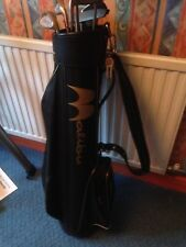 Ladies right handed golf clubs, mix of Nancy Lopez and Fazer Contender, with bag