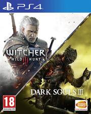 The Witcher III Wild Hunt + Dark Souls III Compilation PS4 Game