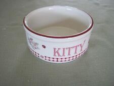 Pfaltzgraff Kitty, Delicious Bowl, Cherries, Ladybug, Shabby French Cottage Chic